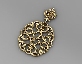 golddesigner PENDANT GOLD 3D print model