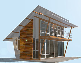 3D model HOME at WEEKEND exterior