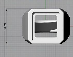 Mens Signet Ring 3D printable model