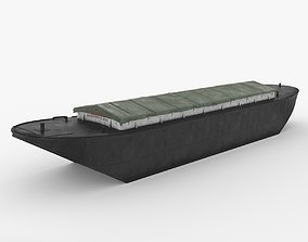 3D Industrial Barge A