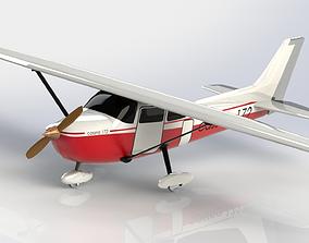 Cessna 172 3D Model uav