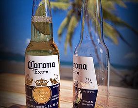 3D model Beer Corona Extra