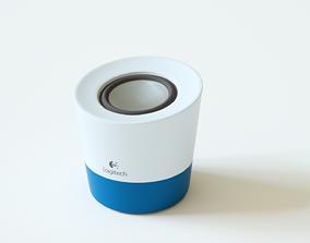 Logitech Speaker 3D asset