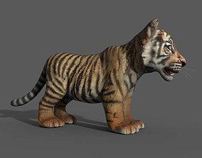 3D model Tiger Cub Game Ready