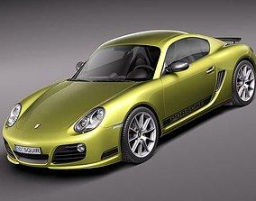 3D model Porsche Cayman R 2011