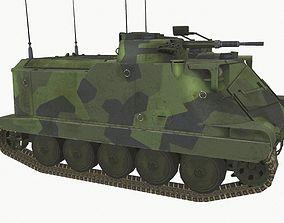 Pansarbandvagn 302 3D asset