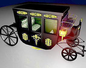 VIP Horse Carriage 3D model