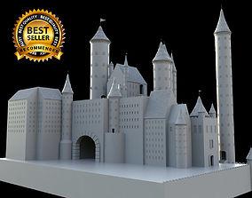 3D house Medieval castle