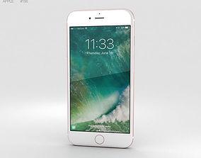 Apple iPhone 7 Plus Rose Gold 3D lte