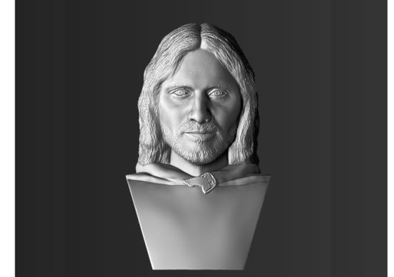 Aragorn the Lord of the Rings bust