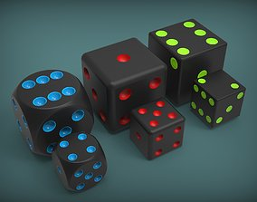 3D Dices sports