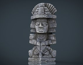 3D asset Ancient Maya Figure