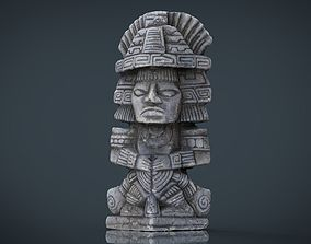 3D asset Ancient Maya Figure