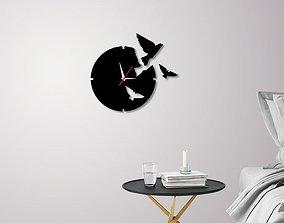 3D print model Decorative Wall Clock C1
