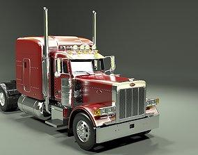 Peterbilt 379 Tractor Truck 1987 3D model up