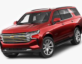 3D model Tahoe SUV 2021