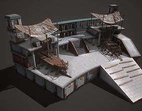 Ancient Shipyard 3D model