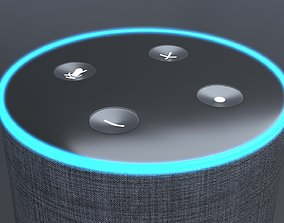 Amazon Echo 3D asset