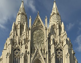 3D printable model St Patrick Cathedral in Manhattan
