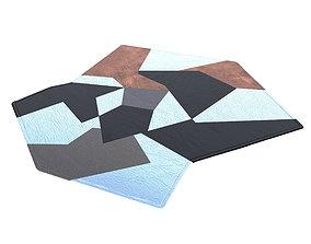 Gio Ponti D754 rug 3D