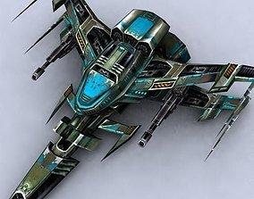 game-ready 3DRT - Sci-Fi Fighters Fleet - Fighter 13