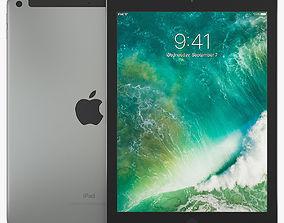 Apple iPad 9-7 Wi-Fi Cellular 3D model
