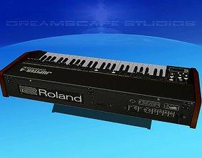 3D model Roland Jupiter 4 Synthesizer