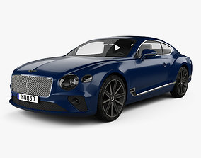 Bentley Continental GT 2018 3D model 2020