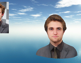 3D print model Edward Cullen Twilight Robert Pattinson 1