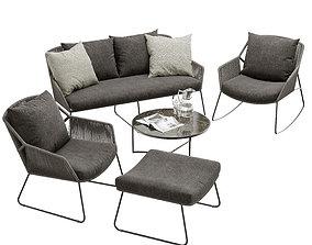 4so accor lounge set 3D