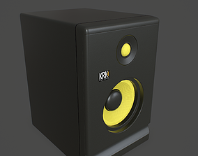 Powered Studio Monitor 3D asset realtime