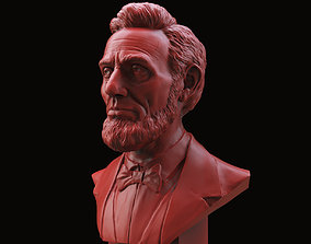 3D print model Abraham Lincoln Bust