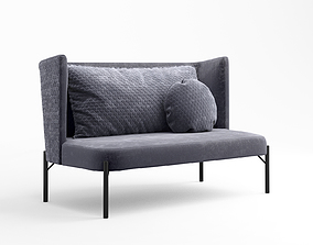 3D model Zuster Contour Two seater armchair