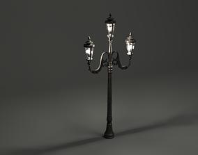3D model Lamp post old