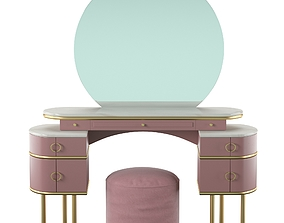 Vanity table Zelda 3D