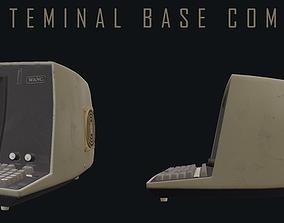 3D asset Classic Terminal Base Computer PBR-GAMEREADY