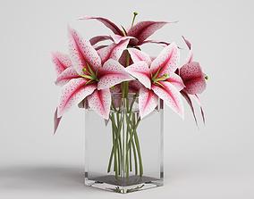 palm 3D CGAxis flower