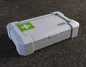 First aid kit firstaid 3D