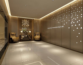 Office meeting room reception hall 24 3D