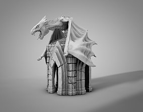 3D printable model Dragon crypt
