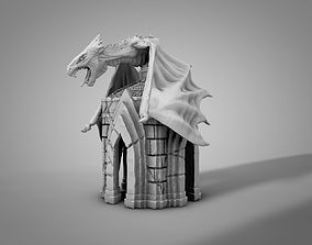 3D printable model miniatures Dragon