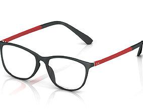 Eyeglasses for Men and Women scope 3D print model