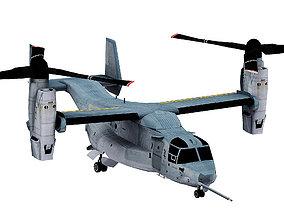 3D asset Bell Boeing V-22 Osprey