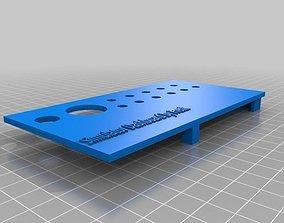 3D printable model Simulator Dashboard