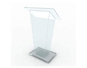 stage Plexi Rostrum 3d model