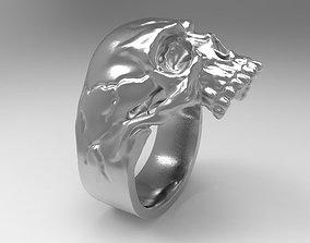 0531 Skull Ring 3D printable model