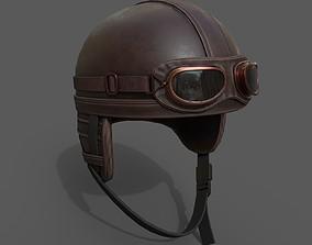 3D model Helmet scifi military low poly
