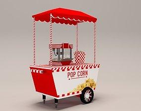 3D Popcorn Car