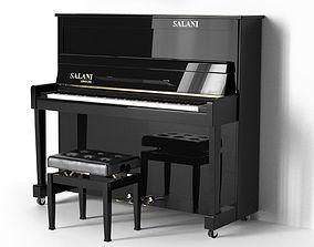 music Piano SALANI Cento 3D