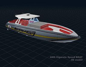 AMG Cigarette Speed BOAT 3D model